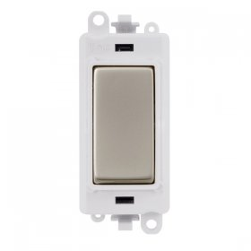 Click Grid Pro GM2075PW 3 Position Retractive Sw Module White