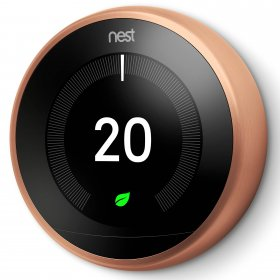Nest T3031EX Learning Thermostat Copper