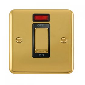 Click Deco Plus 1 Gang 45A DP Switch Neon DPBR501BK