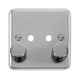 Click Deco Plus DPCH152 2 Gang 2 Way 400Va Dimmer Switch
