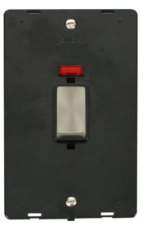 Click Definity 45A Vertical Switch With Neon Insert SIN503BKBS