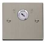 Click Deco Stainless Steel 20A DP Key Lockable Switch VPSS660