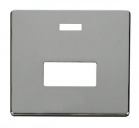 Click Definity Unswitched Fused Spur Neon Cover Plate SCP253CH