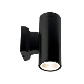 ALL LED Black Decorative Tubular Wall Light IP65 AWLGU/BK/02