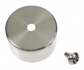 Click CV210SC Satin Chrome Cover for PRC210 Pullcord