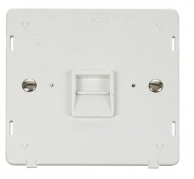 Click Definity Master Telephone Socket Insert SIN120PW