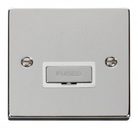 Click Deco Polished Chrome Unswitched Fused Spur VPCH750WH