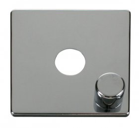 Click Definity 1 Gang Dimmer Switch Cover Plate & Knob SCP241CH