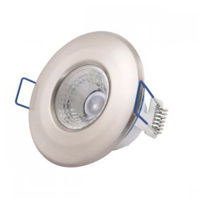 Inceptor Nano 5 Fixed Satin Chrome LED Downlight Warm White