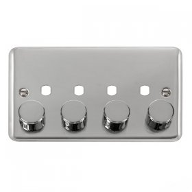 Click Deco Plus 4 Gang 2 Way 400Va Dimmer Switch DPCH154