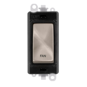 Click Grid Pro GM2018BKBS-FN DP Mod Black Brushed Stainless Fan