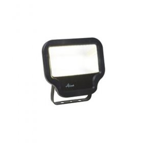 Ansell Calinor LED Polycarbonate Floodlight Black 50W ACALED50