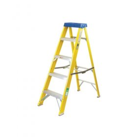 Elex Electricians Fibre Glass 5 Tread Step Ladder
