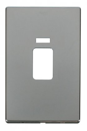 Click Definity 45A Vertical Cooker Sw Neon Cover Plate SCP203CH
