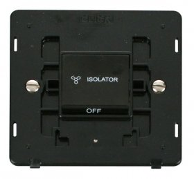 Click Definity 3 Pole Fan Isolator Switch SIN020BK