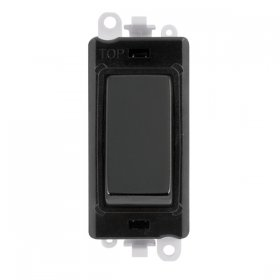 Click Grid Pro GM2004BK 2 Way Retractive Switch Module Black