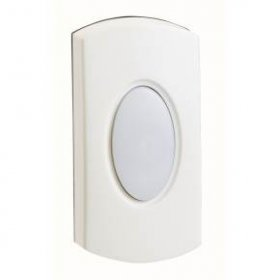 Greenbrook DP020A-C White Bell Push