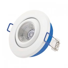 Inceptor Nano 5 Adjustable White LED Downlight Warm White