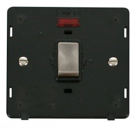 Click Definity 20A DP Switch With Neon Insert SIN723BKBS