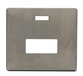 Click Definity Unswitched Fused Spur Neon Cover Plate SCP253SS