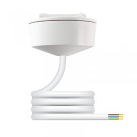 Hager Klik PCR2000 Pre-wired Plug-in Ceiling Rose with 2M Flex