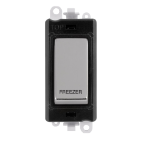 Click Grid Pro GM2018BKCH-FZ DP Mod Black Pol/Chrome Freezer