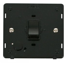 Click Definity 20A DP Switch with Flex Outlet Insert SIN022BK