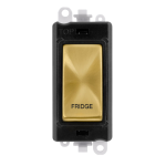 Click Grid Pro GM2018BKSB-FD DP Sw Module Bk Satin Brass Fridge