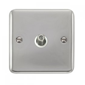 Click Deco Plus Single Satellite Socket DPCH156WH