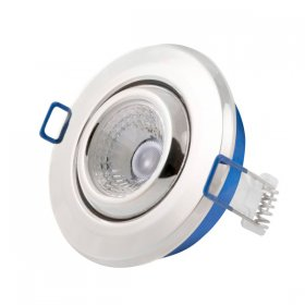 Inceptor Nano 5 Adjustable Chrome LED Downlight Cool White
