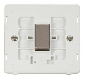 Click Definity 1 Gang 2 Way Switch Insert SIN411PWSS