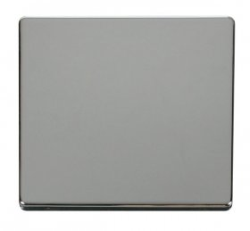 Click Definity 1 Gang Single Blank Plate Cover Plate SCP060CH