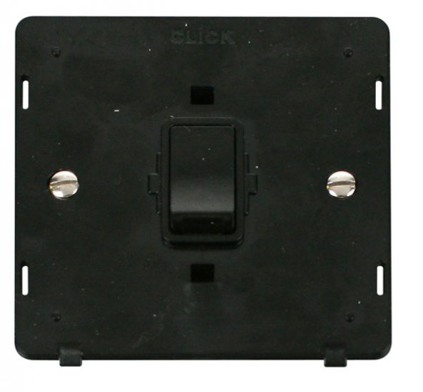 Click Definity 20A Double Pole Switch Insert SIN622BK