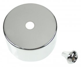 Click CV210CH Polished Chrome Cover for PRC210 Pullcord