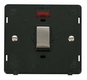 Click Definity 20A DP Switch With Neon Insert SIN723BKSS