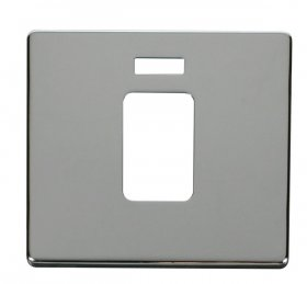 Click Definity 45A Single Cooker Sw Neon Cover Plate SCP201CH