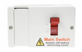 Click DB701 80A Fused Main Switch (Lockable)