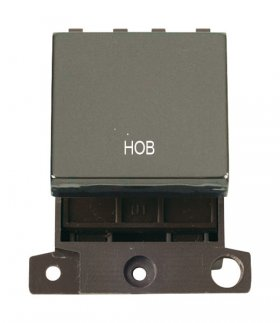 Click MiniGrid MD022BNHB Black Nickel 20A DP Hob Switch Module
