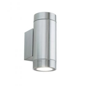 ALL LED Alum Decorative Tubular Wall Light IP65 AWLGU/AL/022