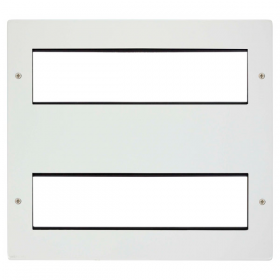 Click New Media Polar White 16 Mod Front Plate + Yokes MP616PW
