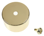 Click CV210BR Polished Brass Cover for PRC210 Pullcord