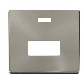 Click Definity Unswitched Fused Spur Neon Cover Plate SCP253BS