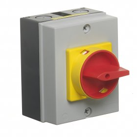 Europa LB204P 20A 4 Pole Rotary Isolator IP65
