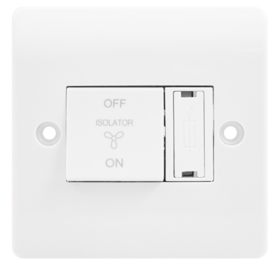 Click Mode 10A 3 Pole Fan Isolator Switch with 3A Fuse CMA3020