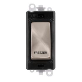 Click Grid Pro GM2018BKBS-FZ DP Mod Black B/Stainless Freezer