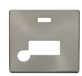 Click Definity Unswitched Fused Spur Neon Cover Plate SCP153BS