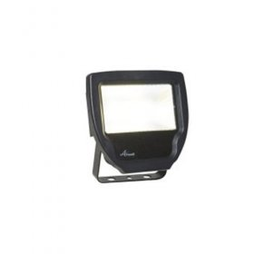 Ansell Calinor LED Polycarbonate Floodlight Black 20W ACALED20