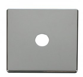 Click Definity Single Satellite / Coaxial Cover Plate SCP231CH