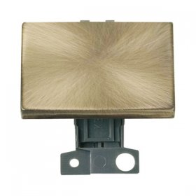 Click MiniGrid MD009AB Antique Brass 2 Way Paddle Switch Module