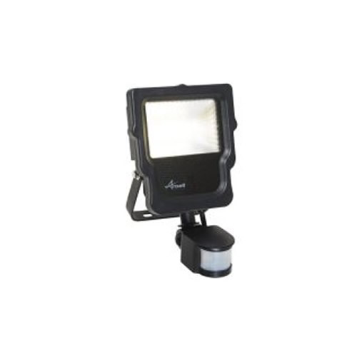 Ansell Calinor LED Polycarbonate Floodlight PIR 10W ACALED10/PIR